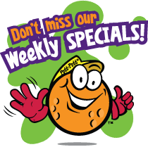 Check out our Weekly Specials